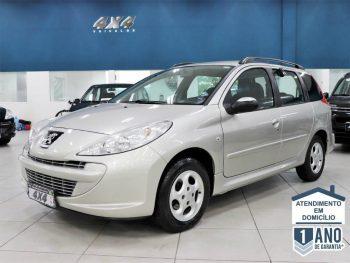 Foto numero 0 do veiculo Peugeot 207 SW XR - Prata - 2011/2012