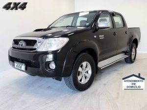 Foto numero 0 do veiculo Toyota Hilux CD 4X4 SRV - Preta - 2009/2009
