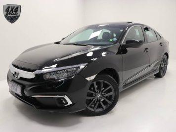 Foto numero 0 do veiculo Honda Civic Touring CVT - Preta - 2019/2020
