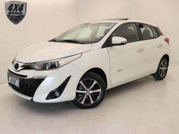 Foto numero 0 do veiculo Toyota Yaris XLS 1.5 AT - Branca - 2018/2019