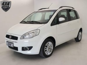 Foto numero 0 do veiculo Fiat Idea Attractive 1.4 - Branca - 2012/2013